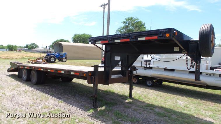 2006 Belshe DT22 equipment trailer