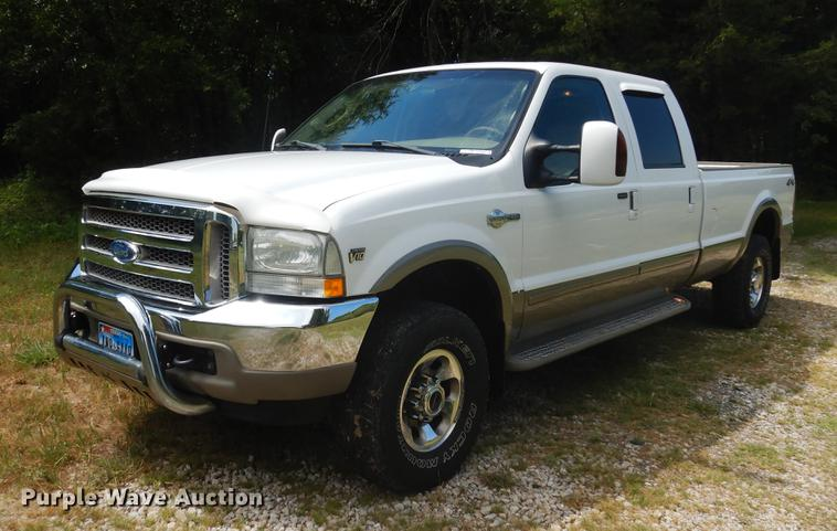 2003 Ford F250 Super Duty King Ranch Crew Cab pickup truck