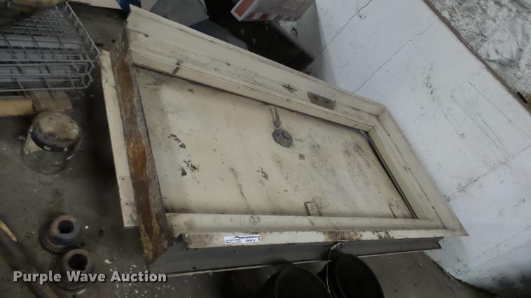 Diebold steel safe door and frame