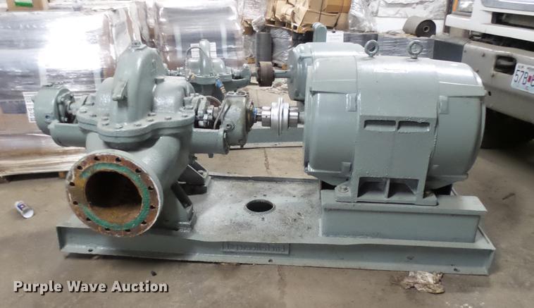 Ingersoll Rand water pump