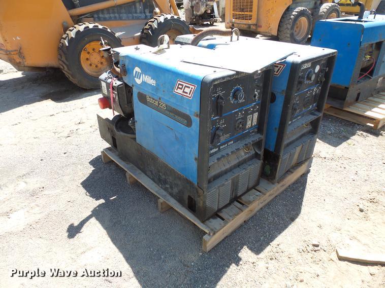 (2) Bobcat 225 AC/DC welders