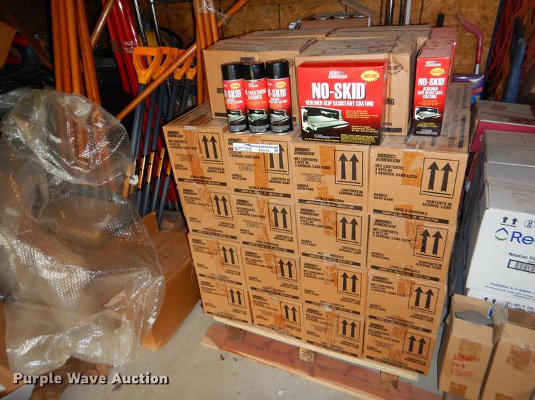 Approximately 148 no-skid bed liner slip resistant coating kits