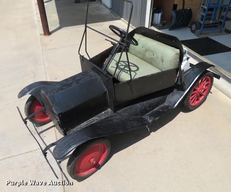 Miniature Tin Lizzie car
