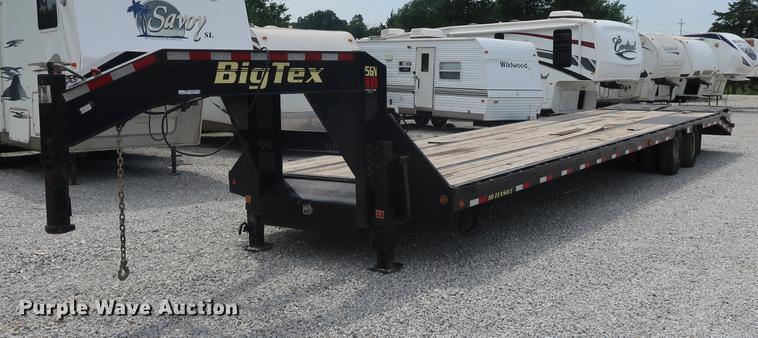 2016 Big Tex 25GNHD equipment trailer