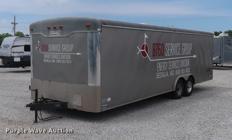 2000 Haulmark enclosed cargo trailer