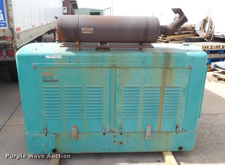 Onan 30.0 generator