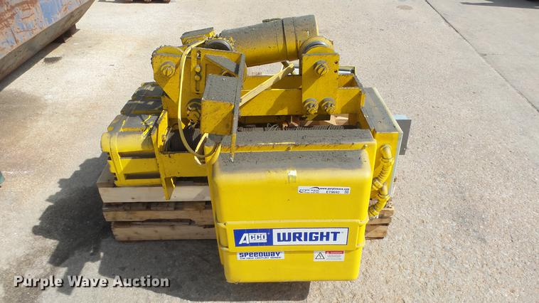 Wright wire rope hoist
