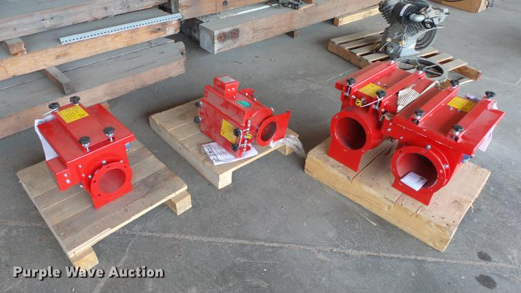 (4) Rembe non-return valves