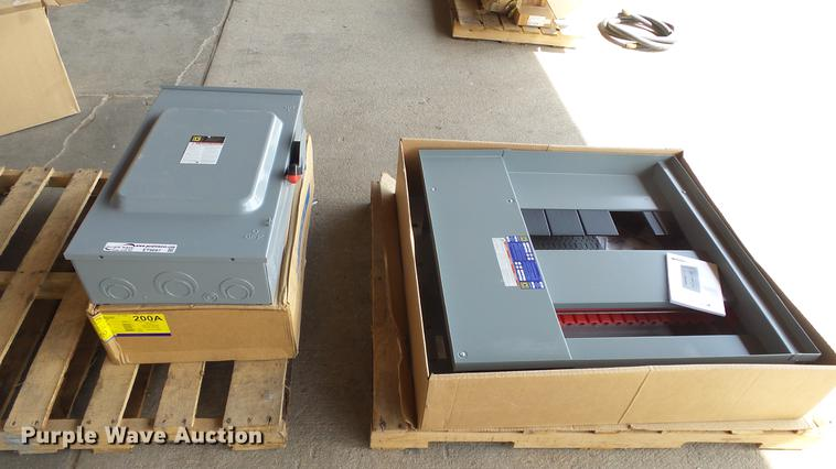 Square D electrical enclosures