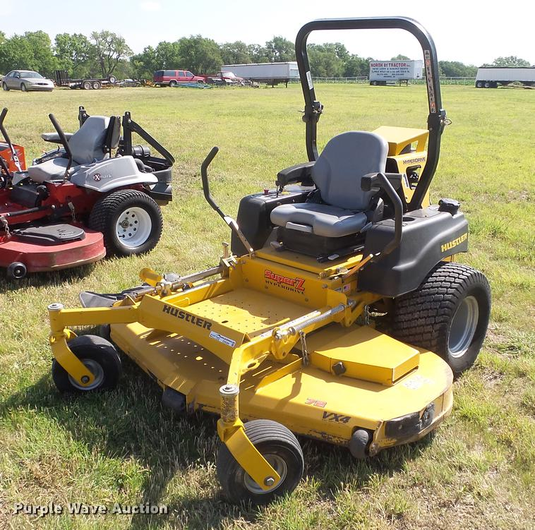 Hustler 932152 Super Z ZTR lawn mower