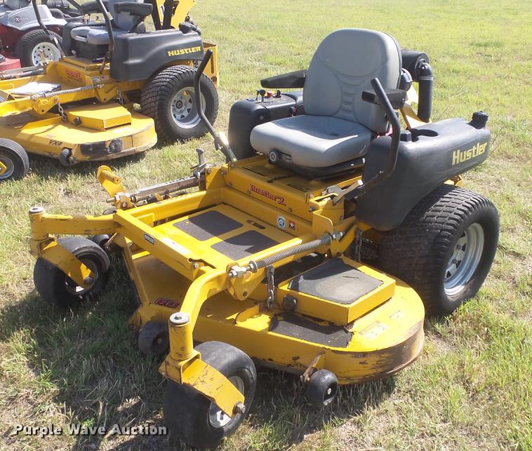 Hustler Z ZTR lawn mower