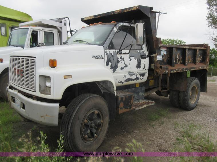 1991 GMC TopKick C7000 dump truck