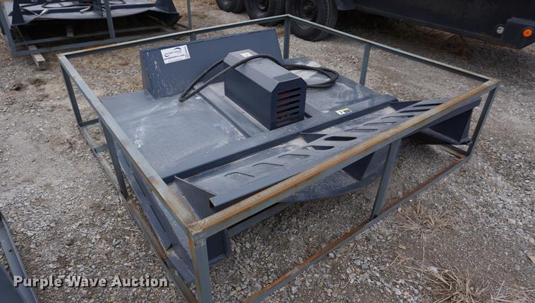 Racoon skid steer rotary mower