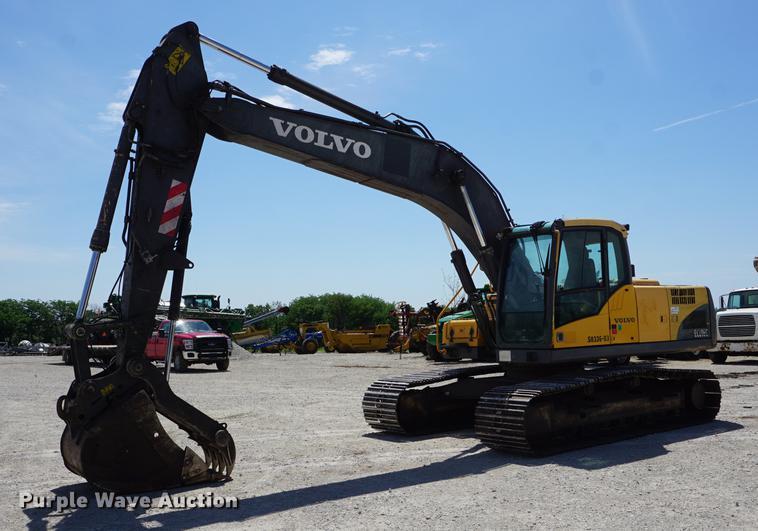 2007 Volvo EC210C L excavator