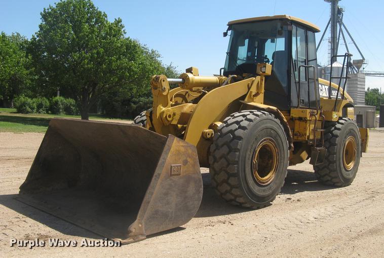 2006 Caterpillar 950H wheel loader
