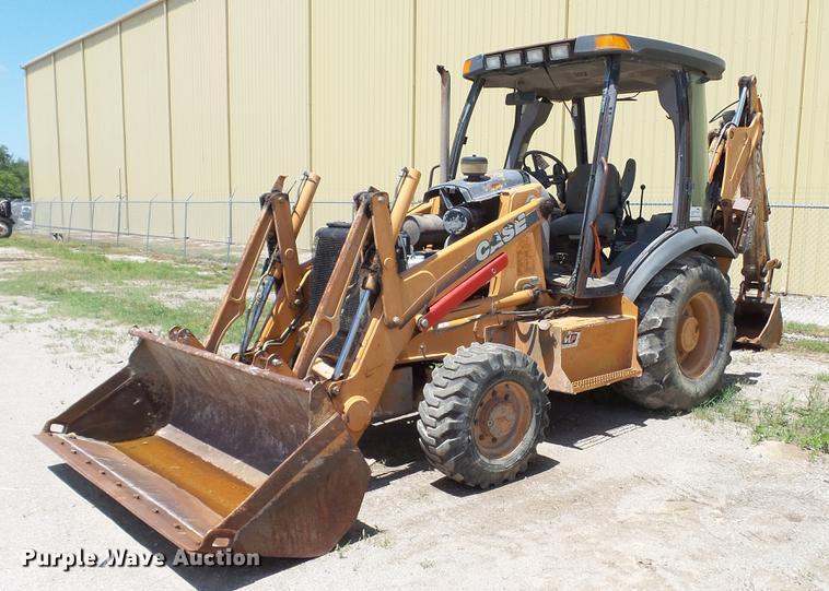 2001 Case 580M backhoe