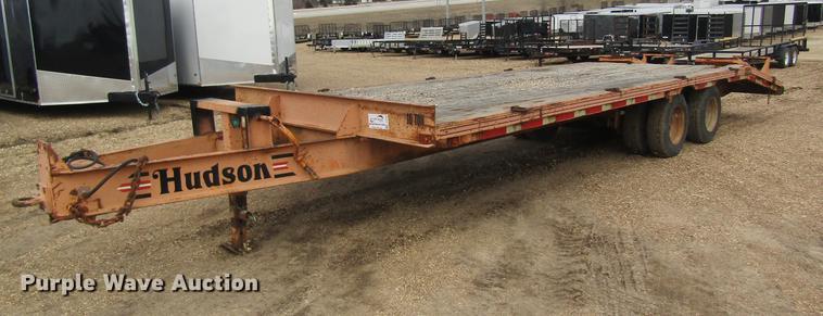 1999 Hudson equipment trailer
