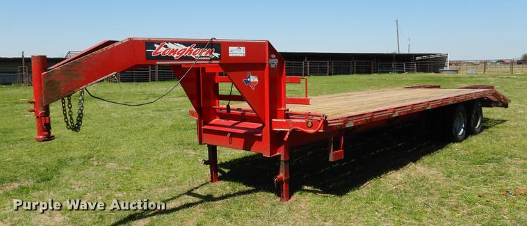 2015 Longhorn equipment trailer