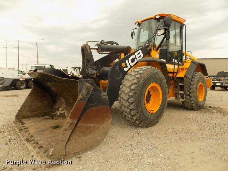 2013 JCB 437 ZX wheel loader