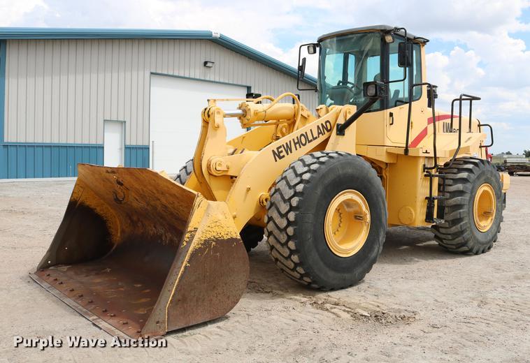 2000 New Holland LW190 wheel loader