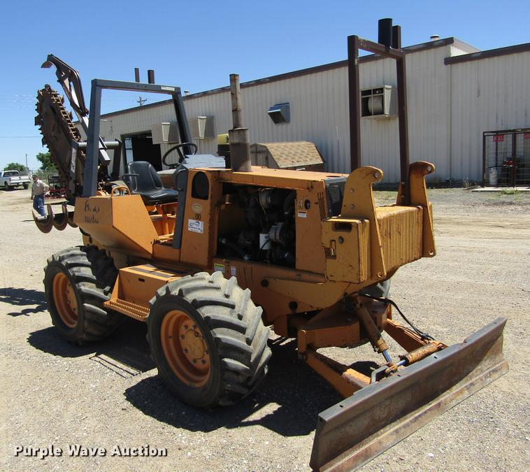 Case 860 trencher