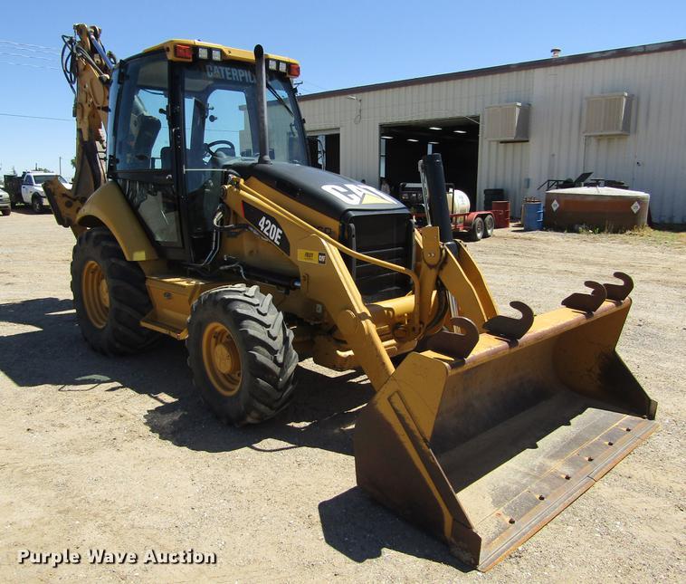 2011 Caterpillar 420E backhoe