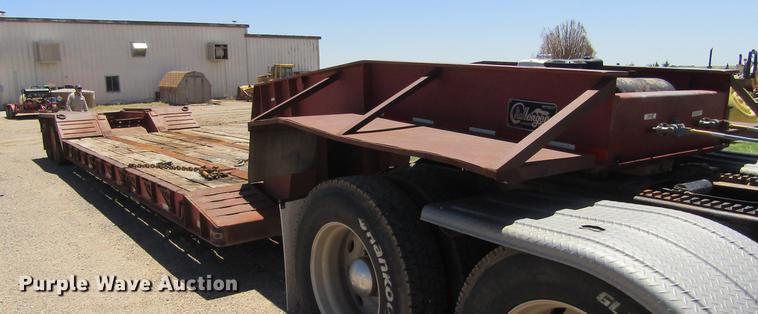 2006 Witzco Challenger RG-35 low boy equipment trailer