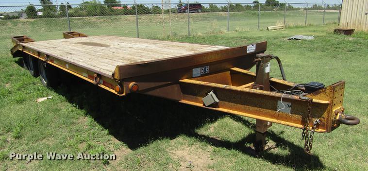 2006 Belshe equipment trailer