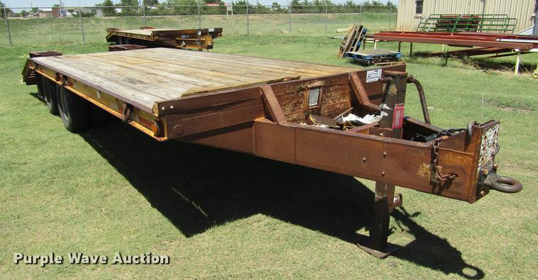 1997 Belshe T9 equipment trailer