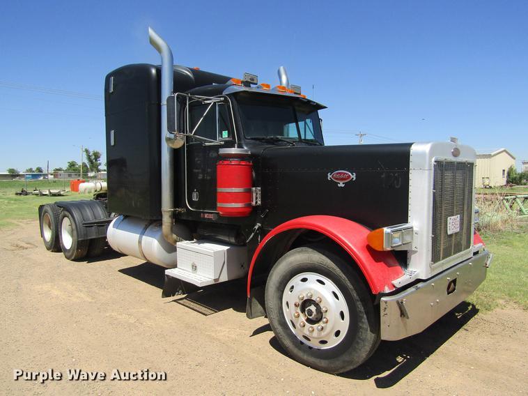 1991 Peterbilt 379 semi truck