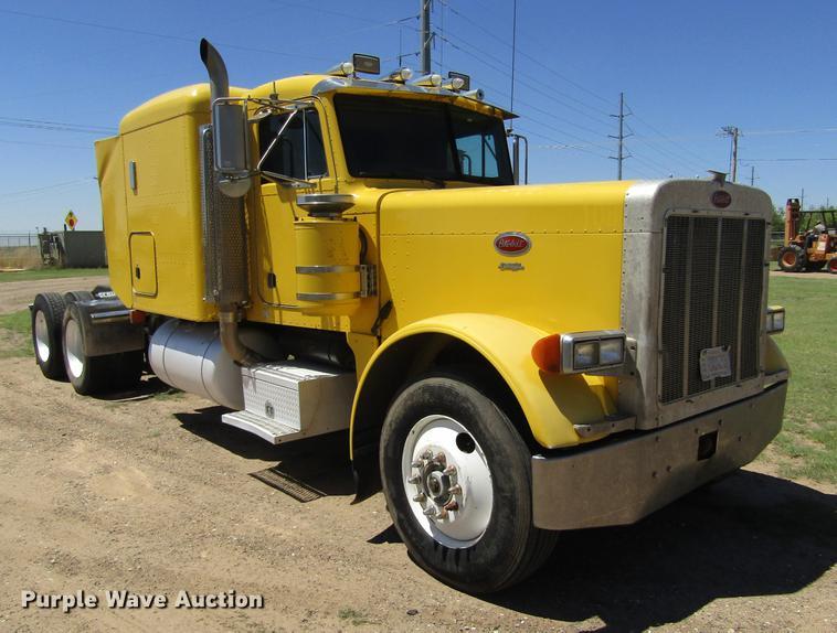 1992 Peterbilt 379 semi truck