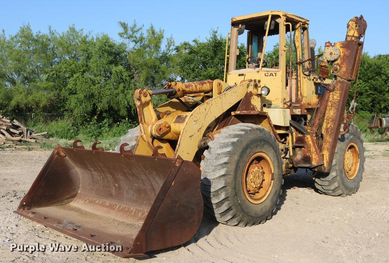 1986 Caterpillar 936 wheel loader