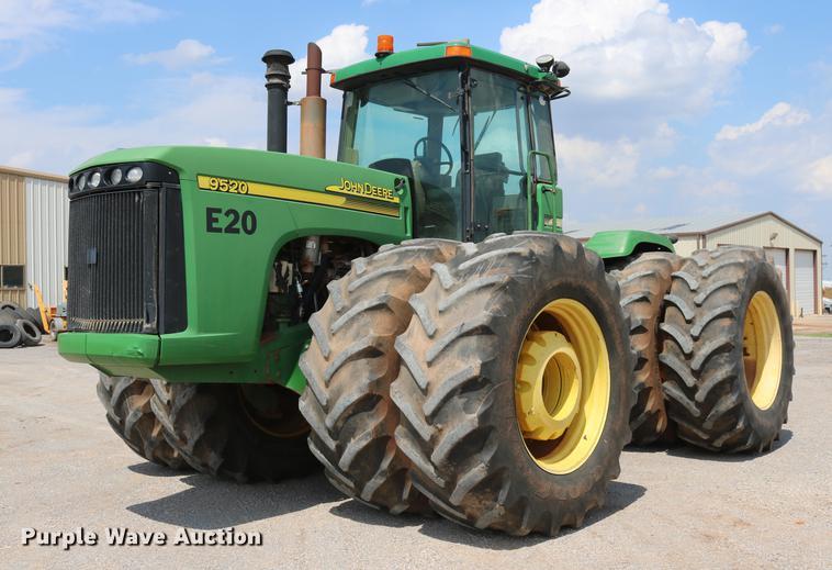 2003 John Deere 9520 Scraper Special 4WD tractor