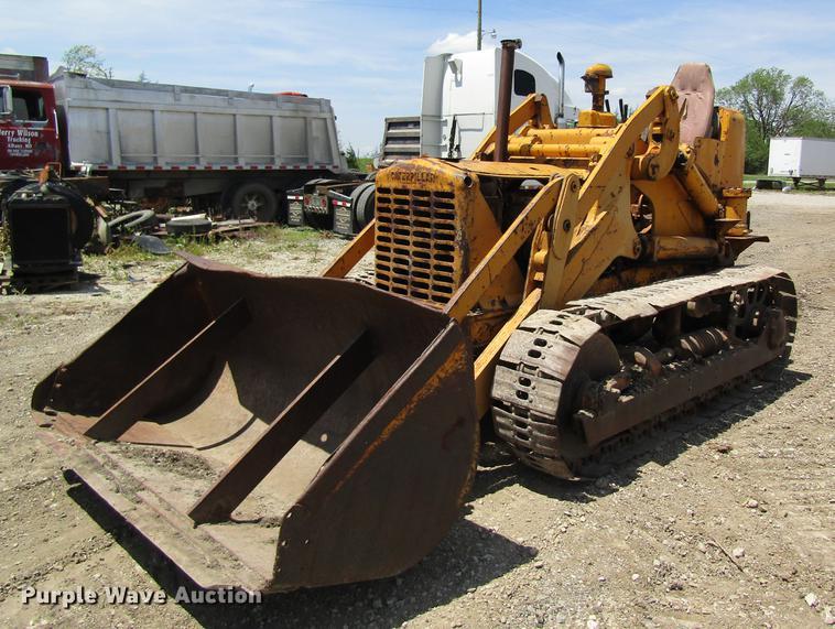 Caterpillar 955 track loader