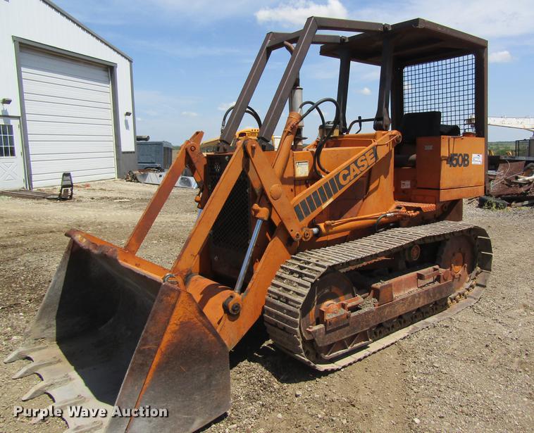 1978 Case 450B track loader