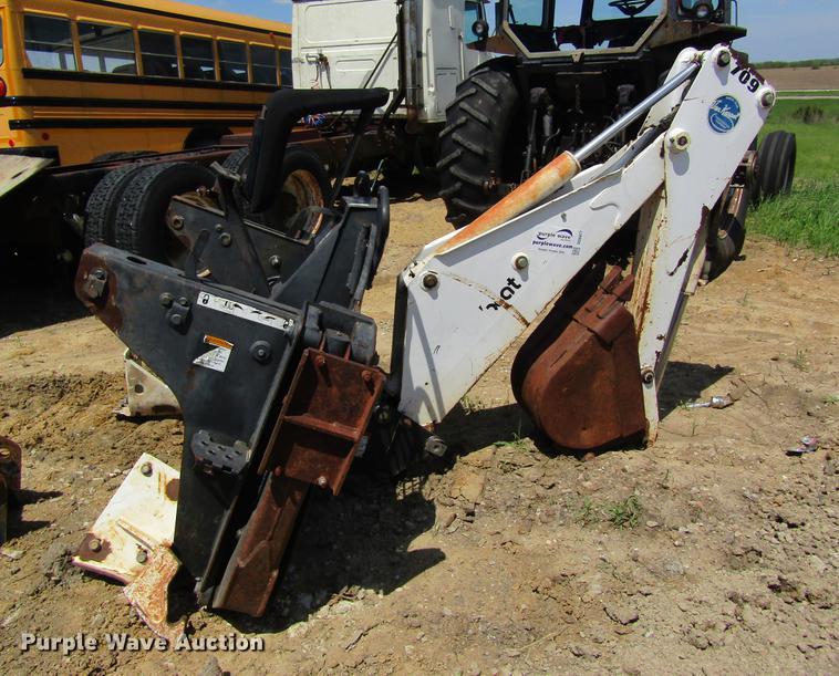 Bobcat 709 backhoe attachment
