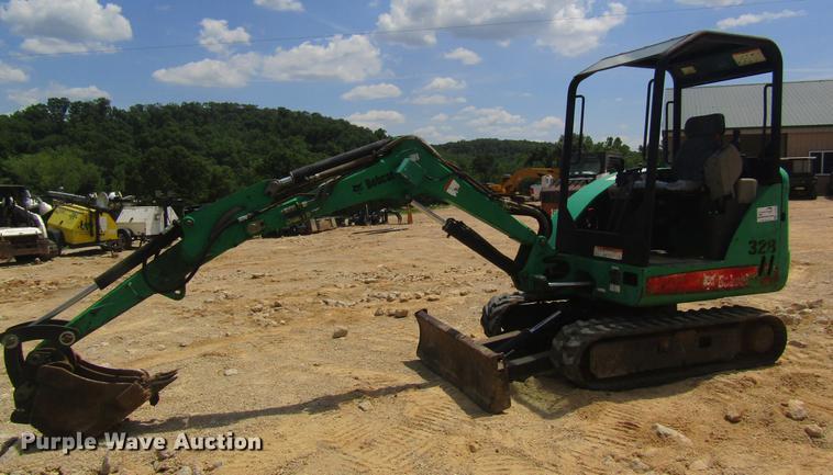2006 Bobcat 328 mini excavator