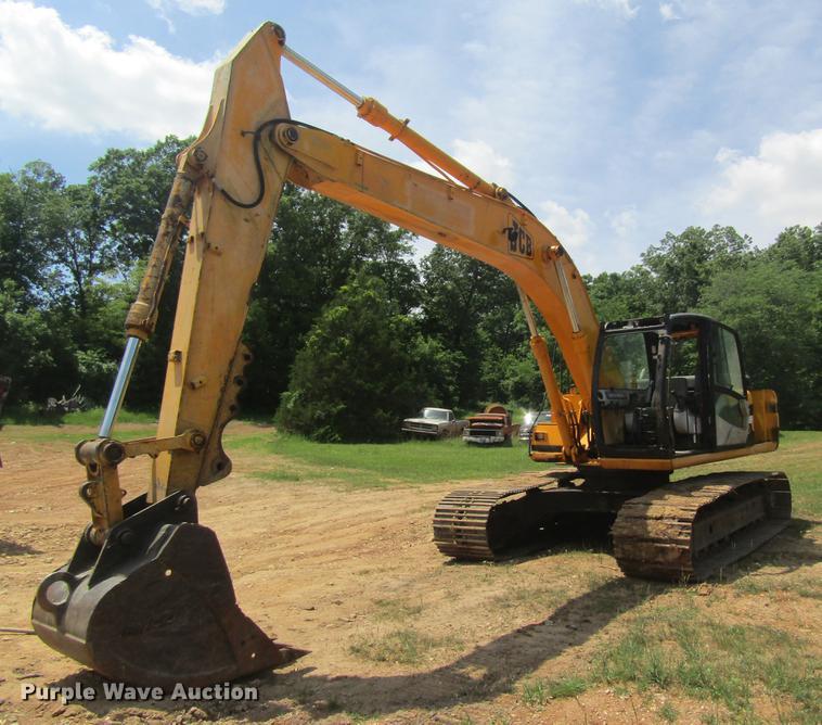2000 JCB JS200 excavator