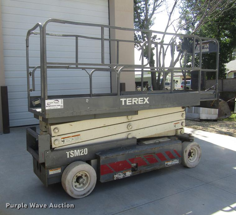 Terex TSM20 scissor lift