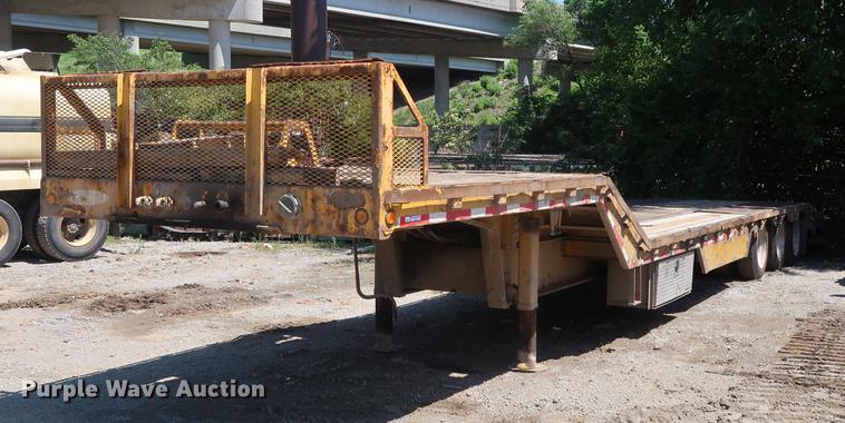 2006 Ledwell equipment trailer