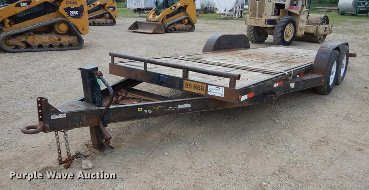 Doolittle tilt deck trailer