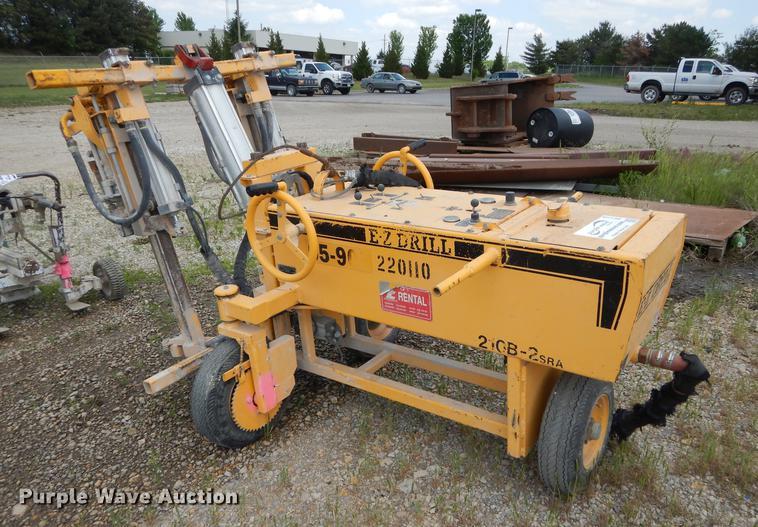 (2) EZ 210B-2SRA drills