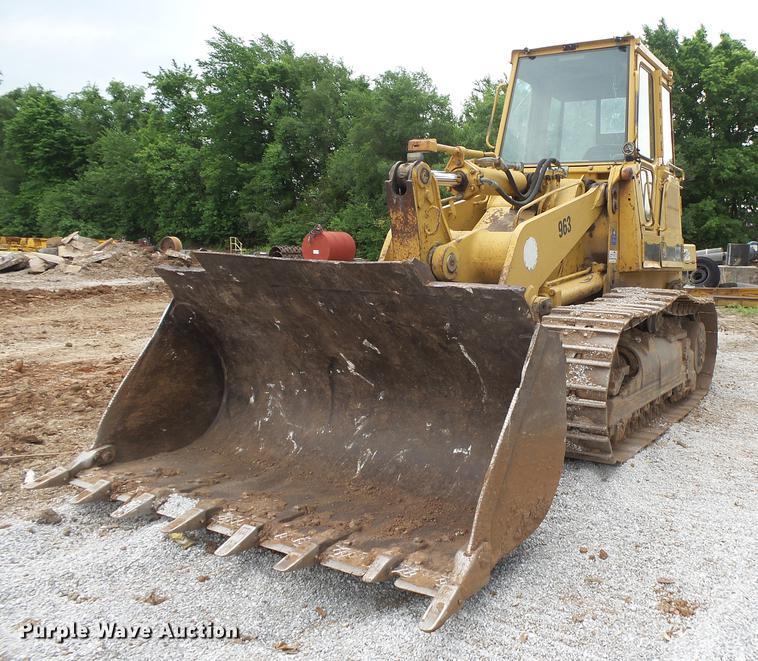 1993 Caterpillar 963 track loader