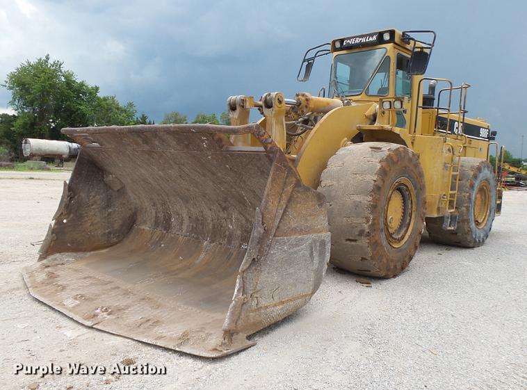 1997 Caterpillar 988F Series II wheel loader
