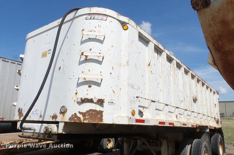 1996 Steco end dump trailer