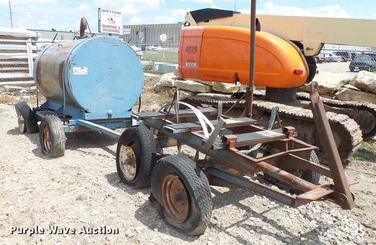 (2) water tank trailers