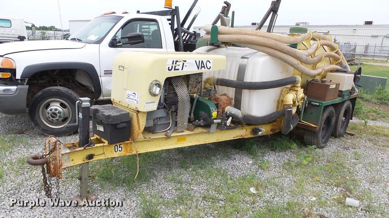 2001 Ring A Matic Jet Vac vacuum trailer