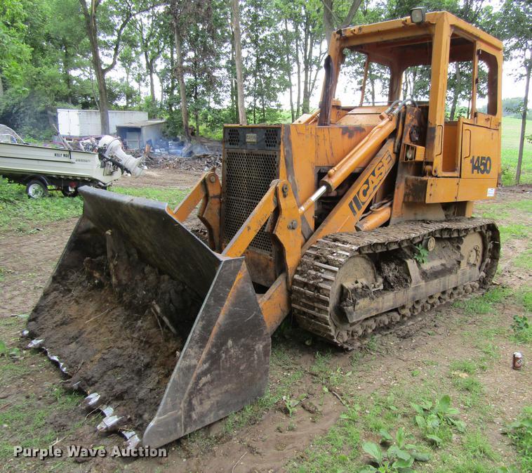 1979 Case 1450 track loader