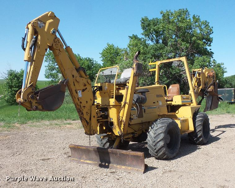 1999 Vermeer V8550A vibratory cable plow