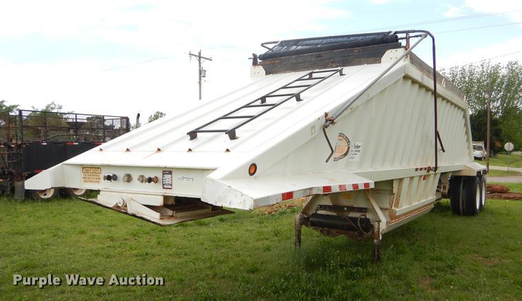 2009 CTS BDT-40 bottom dump trailer
